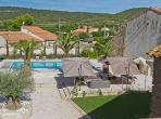 Argeliers Beziers Narbonne house Languedoc rental holiday visit property garden patio palm tree