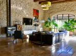Luxury 4 bedroom private gite with a private swimming pool on a shared Domaine near Narbonne. Sleeps 10. (NARB117)