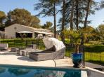 Luxury Two-Bedroom House with Garden, Private and Shated Heated Pools. (SPDS103)