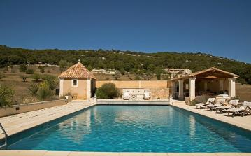 Luxury Country House with Large Heated Pool and Tennis Court. 3 bedrooms, sleeps 6 (GORD106EE)
