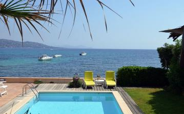 Lovely Villa with Pool and Direct Access to Beach. 4 bedrooms, sleeps 8 (STMX127)